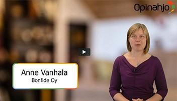 Anne Vanhala käy lyhyesti läpi, mistä uudessa säätiölaissa onkaan kyse.